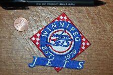"Winnipeg Jets 3 1/4"" Patch Established 1979 Logo Hockey"