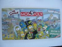 The Simpsons Monopoly - Welcome To Springfield 2001 - Spare parts