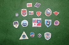 1/6 US Navy Tom Cruise Maverick Top Gun pilot jacket patch set lot