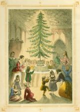 The Christmas Tree, 1846, Reproduction Vintage Christmas Festive A3 Poster