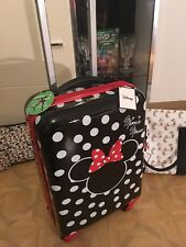 Minnie Mouse 1928 Limited Edition Reisekoffer Trolley ABS 4 Räder 43x68x25