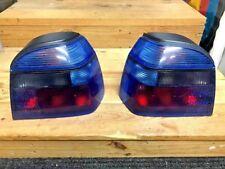 VW Golf 3 Mk3 HELLA Blue Tail Lights