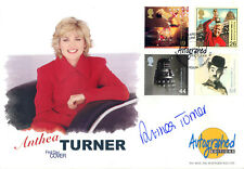 1999 Entertainers - Westminster Autographed Editions Off - Signed ANTHEA TURNER