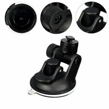 Useful Car Video Recorder Suction Cup Mount Bracket Holder Black for Dash Camera