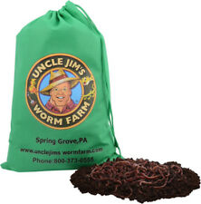 1000 Red Composting Worm Mix - Free Fed Ex 2 DAY Express Shipping