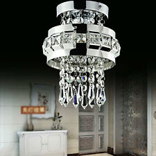 Crystal Ceiling Lights Fitting Pendant Lamp Chandeliers 7398HC_+1pc 5W LED Bulb