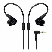 audio-technica ATH-LS50 BK Black Dynamic In-Ear Headphones NEW from Japan F/S