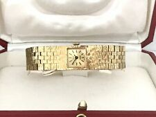 Stunning Vintage 1960s OGIVAL Swiss Made 17 Jwls Gold Plated Ladies Dress Watch