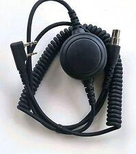 Headset Coiled Cord Baofeng 2P w/ptt Kelvar Reinforced Racing Radios Electr