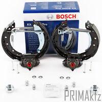 Bosch 0204114554 Kit Super PRO Bremsbackenset mit Radbremszylinder vormontiert