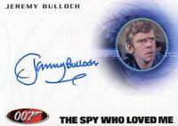 James Bond Archives 2014 Edition Jeremy Bulloch Autograph Card A251