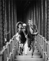 Sophia Loren and Gregory Peck running. - 8x10 photo