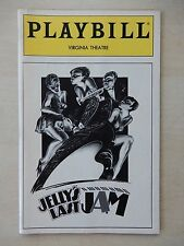 April 1993 - Virginia Theatre Playbill - Jelly's Last Jam - Gregory Hines