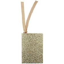 John Lewis 12 Gold Glitter Gift Tags New