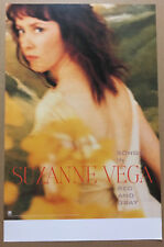 Suzanne Vega Rare 2001 Promo Poster for Songs in Red Cd 11x17 Usa Mint