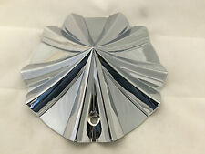 "NEW GIO 786 CHROME 20"" 22"" 24"" WHEEL RIM CENTER CAP PART # CAP786L183 LG0510-36"
