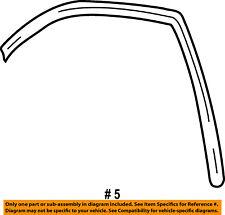 FORD OEM Front Door-Run Channel Left 3F2Z1621547AA
