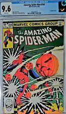 Amazing Spider-Man #244 CGC 9.6 - 3rd app of Hobgoblin by John Romita Jr.