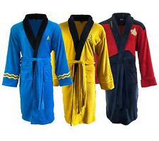 More details for star trek bath robes dressing gowns adult mens/womens official movie night wear