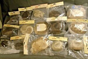 LOT OF 15 TALLINA'S DOLL WIGS, VARIOUS SIZES, COLORS & STYLES
