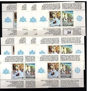 / 10X SAN MARINO - MNH - EUROPA CEPT 1989 - CHILDREN - GAMES