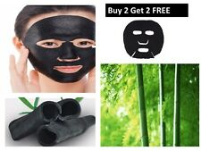 Bamboo Charcoal Compressed Mask Paper Fiber Face Care