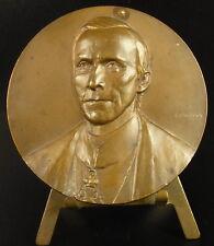 Médaille Chanoine  géologue Henricus Henry de Dorlodot Belge Belgique 1929 Medal