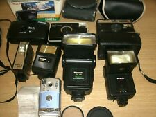 Camera bundle Olympus, Canon, Kodak, Miranda Dedicated Flash and accessories