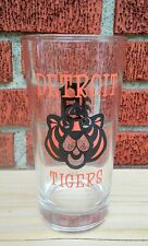 "Vintage 1968 MLB ""Detroit Tigers"" Drinking Glass"
