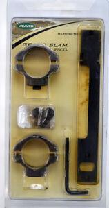 Weaver Steel Base & Rings For Remington 40X-L, 700, 721, 725 long action #49266
