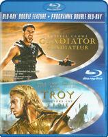 Gladiator / Troy (Double Feature) (Blu-ray) (B New Blu