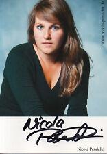 Autogramm - Nicola Pendelin (Chiemgauer Volkstheater)