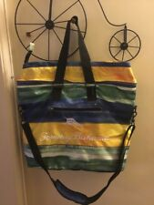 Tommy Bahama Insulated Cooler Picnic Beach Tote Bag Designer vacation b