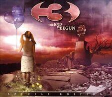 3 - The End Is Begun [Digipak] (CD + DVD, 2008) Progressive Metal, NEW
