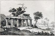 Halicarnasse Bodrum Asie Mineure turquie 1835 Halicarnassus Halikarnas