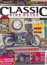 CLASSIC BIKE GUIDE- FEBRUARY 2012-(NEW COPY)Post Included UK USA,Europe,Canada