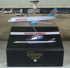 Gemini Jets G2USA129 America West Boeing 757-2 N914AW Diecast 1/200 Model Plane