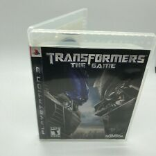 Sony PlayStation 3 PS3 Transformers The Game Disc Complete CIB +Box,Manual