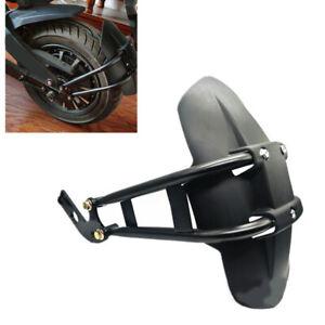 Universal Motorcycle Fender Mudguard Frame Splash Guard for 10-13'' Rear Wheel