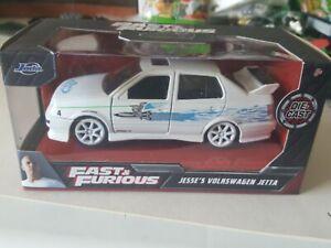 Fast and Furious Jesse's  Volkswagen Jetta  1:32 Scale Jada Brand new