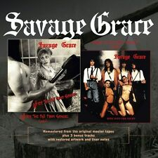SAVAGE GRACE - After the Fall from Grace/Ride Into the Night [CD - NEW - REMAST]