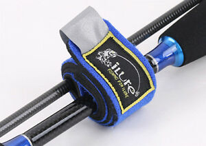 2PCS Fishling Fish Lure Rod Cable binding Tie Strap