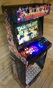 Arcade machine full size 2player classic street fighter Tekken pacman 3400 game