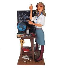 """The Teacher by Guillermo Forchino Caricature Figurine Miniature 16""""H New"""