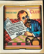 1970s WINDOW DECAL - Club Modiano - Advertising for Cigarette Rolling Papers
