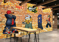 3D Hip hop 466 Fototapeten Wandbild Fototapete Bild Tapete Familie Kinder DE