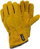 TEGERA 17 Heat Resistant Leather Heavy Duty Welding Gloves Size 8 M 10 XL 11 XXL