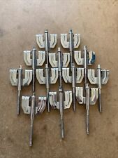 More details for 12x drum claws and bolts for bass drum set #644