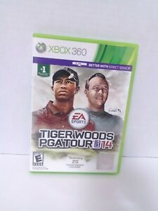 Tiger Woods PGA Tour 14 (Microsoft Xbox 360, 2013)  Tested Fast Shipping CIB