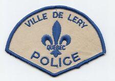 Ville de Lery Police, Quebec, Canada HTF Vintage Uniform/Shoulder Patch